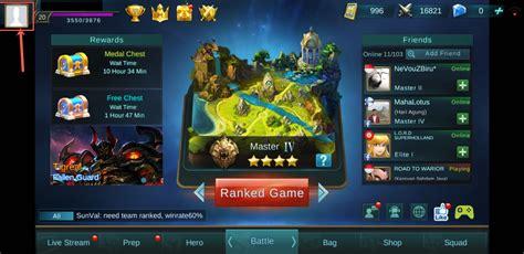 membuat game baru cara buat akun baru di game mobile legends tutorial lengkap