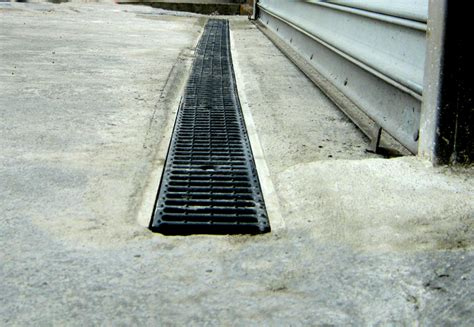 Unique Garages by Trench Drain Or Area Drains Stop Flooding And Water Damage