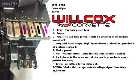 corvette wiper switch testing wpulse wipers willcox corvette