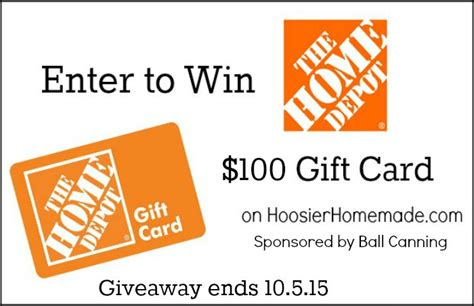 Home Depot Gift Cards At Walmart - home depot gift card giveaway start on your dream kitchen hoosier homemade