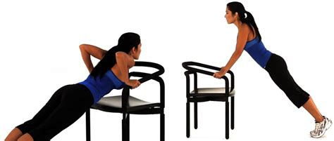 Chair Push Ups by 5 Minute Workouts For The Ultimate Potato Thegoodstuff