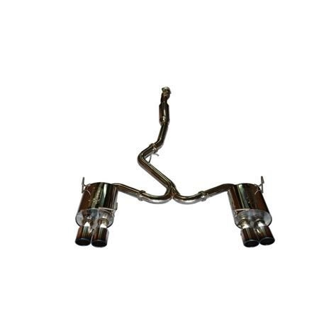2011 subaru wrx exhaust systems 2011 subaru wrx sti sedan catback exhaust