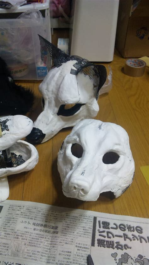 How To Make Masks Out Of Paper Mache - japanese way of mask diy crafts