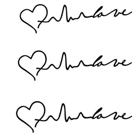 tattoo heartbeat font tattoos shop promotion shop for promotional tattoos shop