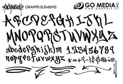 printable graffiti fonts befall a unique designer using graffiti fonts in your
