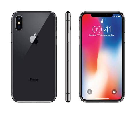 apple x color celular apple iphone x color space gray 256 gb telcel