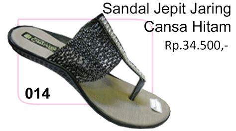 Sandal Wanita Teplek Jaring Tp03 sandal jepit jaring cansa hitam kios sepatu sendal