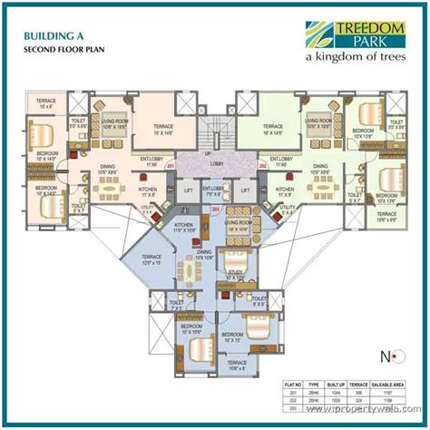 st joseph hospital floor plan mittal treedom park vishrantwadi pune residential