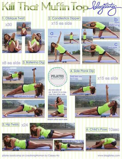pilates bootc kill that muffintop printable