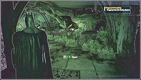 Batman Arkham Asylum Botanical Gardens Collectibles Botanical Gardens Part 4 Batman Arkham Asylum Guide Walkthrough