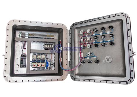 Panel Explosion Proof Custom Controls Technology Explosion Proof Panels