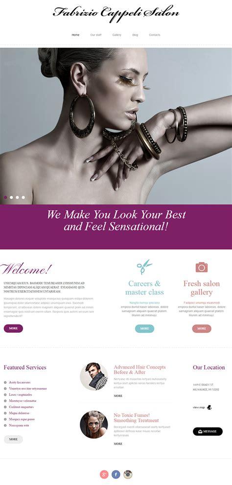 100 beauty u0026 hair salon website designs fabrizio salon