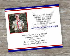 Eagle Scout Invitation Template by Items Similar To Eagle Scout Invitations Dedicated Scout 2