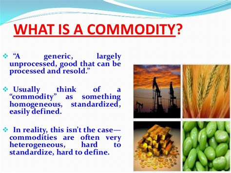 how to start a commodity trading business commodity food definition food