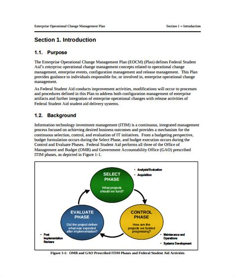 change management plan template 11 change management plan templates free sle