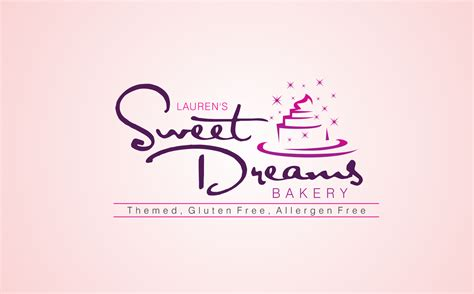 logo design for dreams check out this design for lauren s sweet dreams bakery by