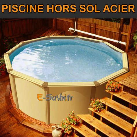 Piscine Rigide Hors Sol 6035 by Revger Piscine Hors Sol Semi Enterr 233 E Acier Id 233 E