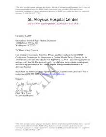 Reference Letter Exles For Nurses Best Photos Of Letter Of Recommendation Nursing Recommendation Letter For Employment