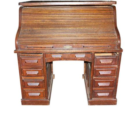 Roll Top Desk Small Antique Small Roll Top Desk Olde Things