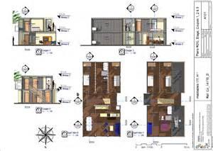 plan co 14173 d maison 171 m 178 avec 12 containers 6m 1