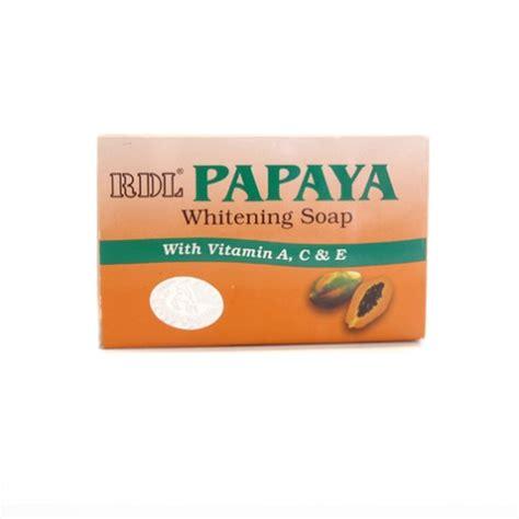 Rdl Papaya rdl papaya whitening soap
