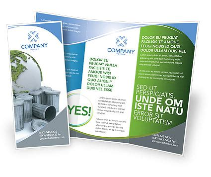 layout bin download refuse bin brochure template design and layout download