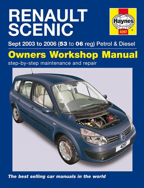 what is the best auto repair manual 2003 chrysler town country parking system haynes manual renault scenic petrol diesel sept 2003 2006