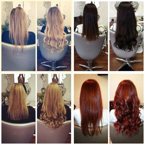 hair extensions for short hair before and after do you have extensions and lie about it love or loathe