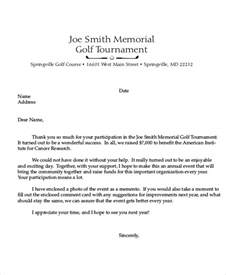 Thank You Letter Template To Sponsors 10 Sle Sponsorship Thank You Letter Free Sle Exle Format
