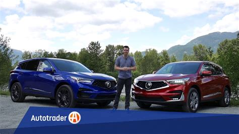 acura rdx  rdx  spec whats  difference
