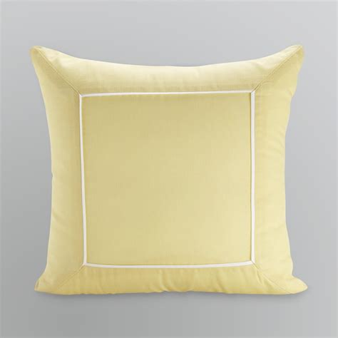 Decorative Trim For Pillows by Cannon Square Yellow Piped Trim Decorative Pillow Home