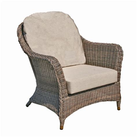 Wicker Armchairs Uk by Bridgman Marlow Rattan Dining Armchair With Waterproof Cushion