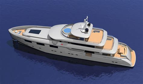 yacht view heysea 50m yacht top view yacht charter superyacht news