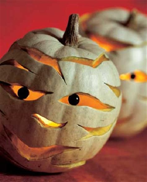 creative pumpkin carving ideas mummified pumpkin carving ideas 7 and creative