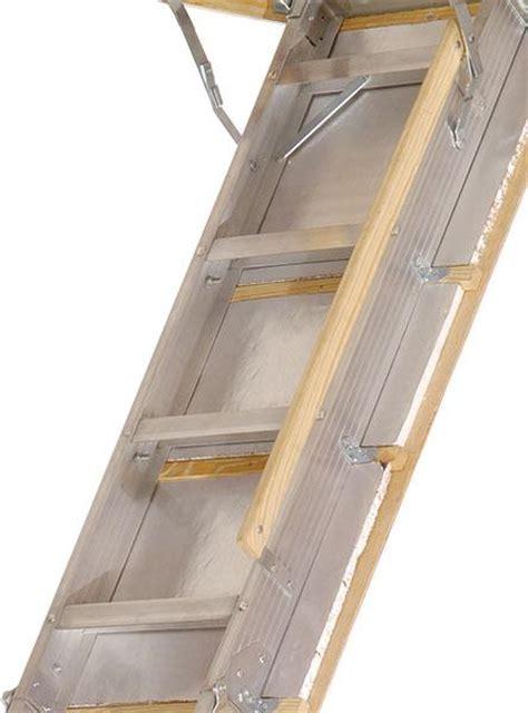 Attic Door Springs by Louisville Ladder Aa229gs Elite Aluminum Attic Ladder 350
