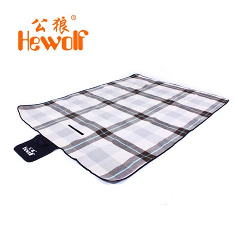 Tikar Lipat Waterproof hewolf tikar piknik lipat waterproof coffee