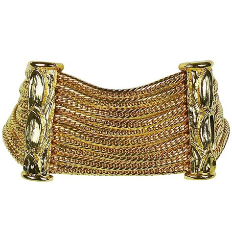 Multi Chain Choker christian boutique vintage gold toned multi chain