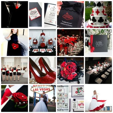 vegas themed wedding decorations a year of creativity plans and presents moodboards for