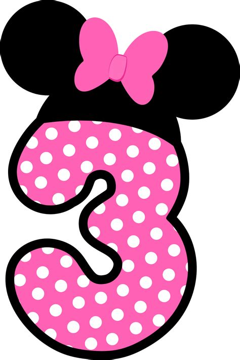 6 best images of minnie n 250 meros a lo minnie en rosa minnie mice minnie mouse and fiestas