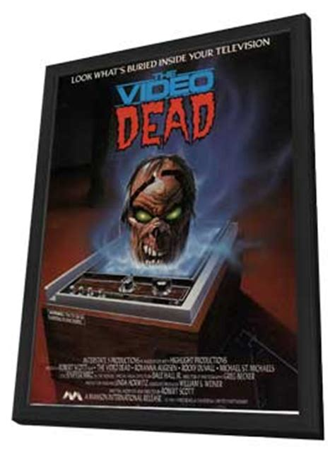 the video dead movie posters from movie poster shop