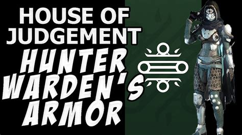 house of judgement destiny the taken king full house of judgement warden s armor for hunters youtube