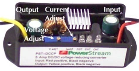 dc dc converter constant voltage or constant current for