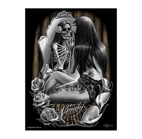 Selling Home Decor dga david gonzales art print posters lowrider sugar skull