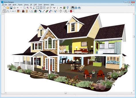 home design software exterior home designer 174 suite