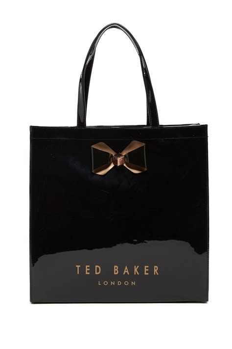 ted baker london bow icon tote nordstrom rack
