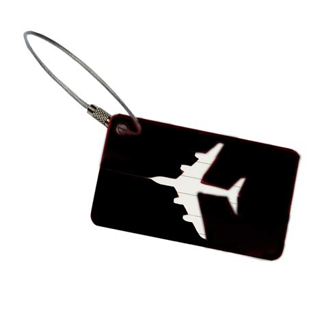 Special Name Tag Bag Tas Koper Luggage Tag Terlaris name tag id tas koper aluminium black jakartanotebook