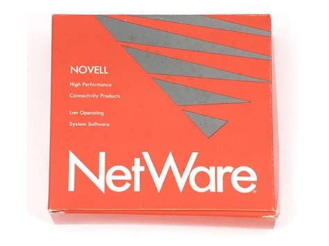 NetWare Lan Operating System Software box   CHM Revolution