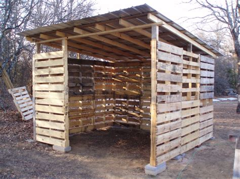 Pallet Sheds wood pallet shed project
