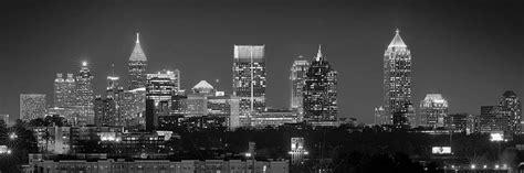 atlanta skyline black and white wallpaper atlanta skyline at night downtown midtown black and white