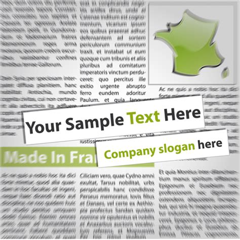 design elements newspaper elements of newspaper design vector graphics 03 vector